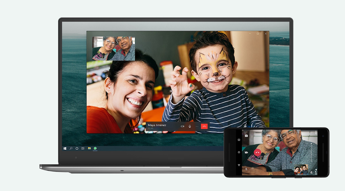 whatsapp video call and voice call