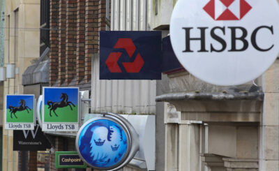 Names of banks in United Kingdom