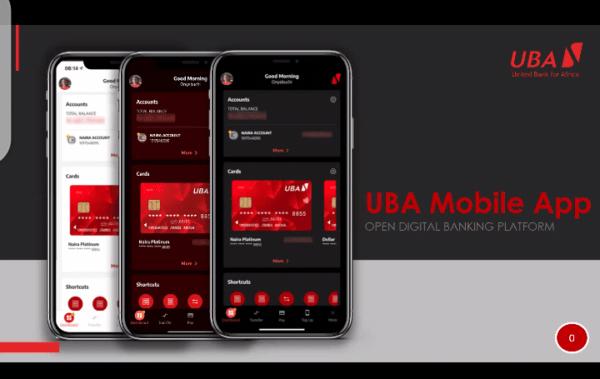 UBA Mobile App, Internet banking