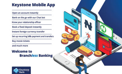 keystone bank mobile app and online banking